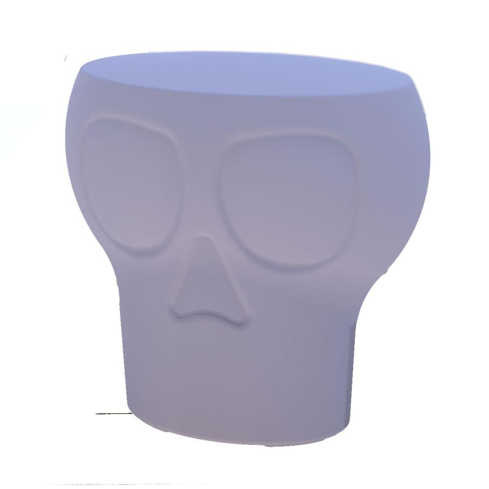 Licht-Trend Calvin LED Sitzleuchte in Totenkopf-Design mit Fernbedienung