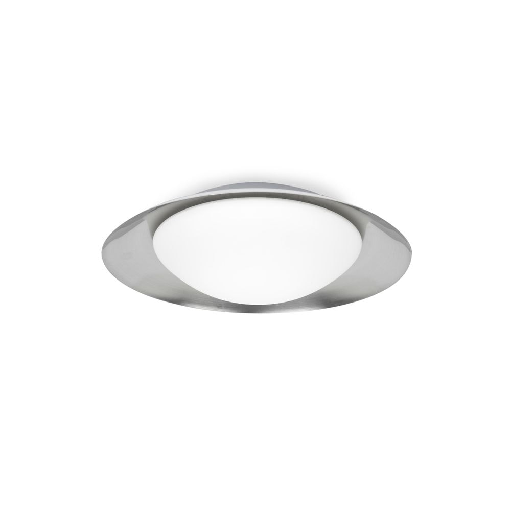 LED Deckenleuchte SIDE 15W Weiß, Nickel