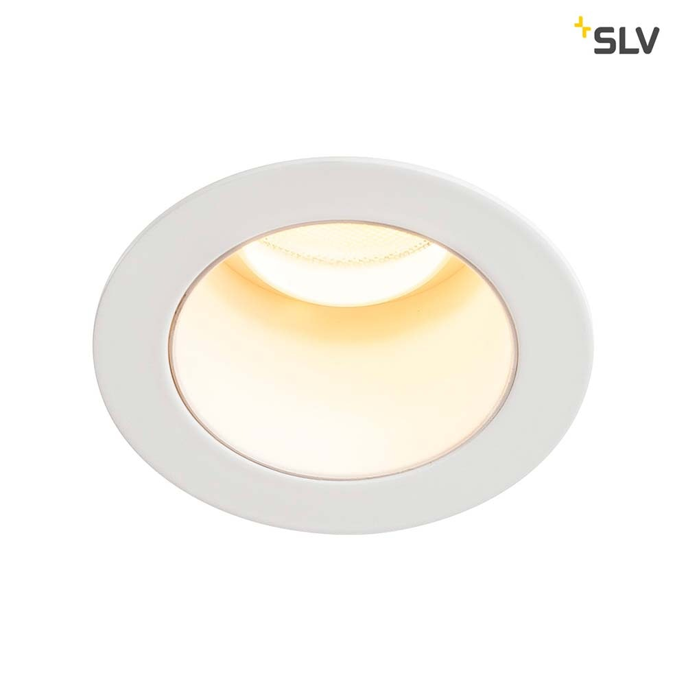SLV Triton Mini LED Einbauleuchte Weiß 1