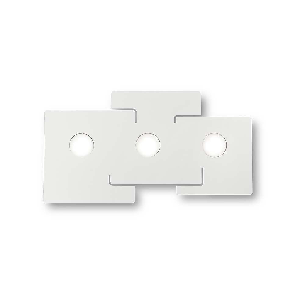 Ideal Lux Deckenlampe Totem 3-flg. Weiß