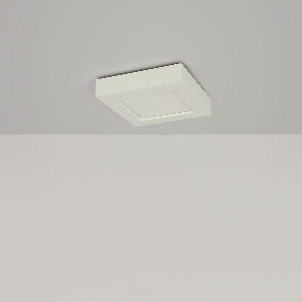 LED Deckenleuchte Svenja Weiß, Opal 8