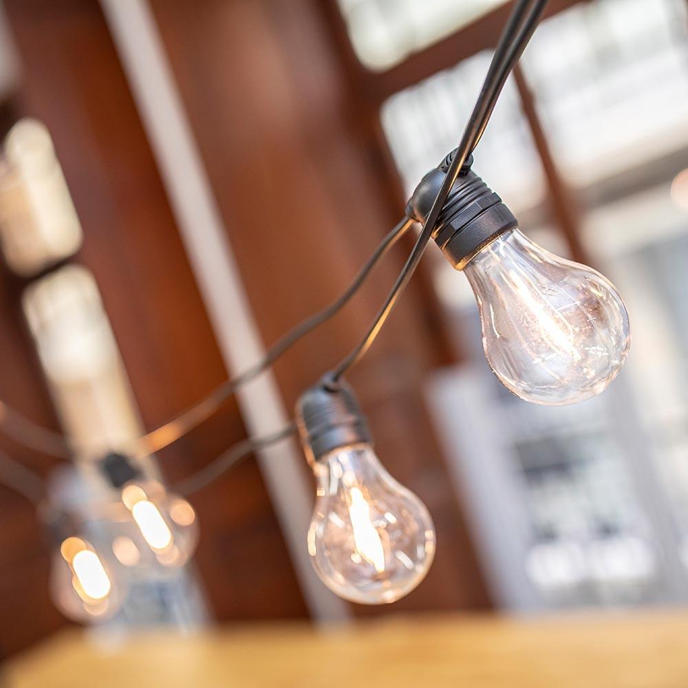 Licht-Trend Girlande Allegra 10-flammig E27 1