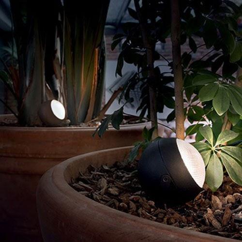 Zenith LED Spießleuchte Anthrazit 1