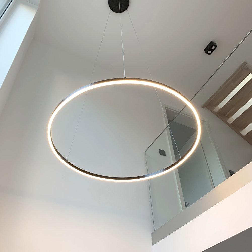 s.LUCE Ring 100 LED Hängelampe 5m Abhängung thumbnail 4