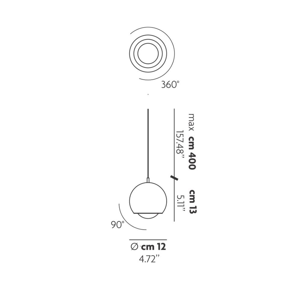 Studio Italia Design Spider LED Hängelampe verstellbar 2