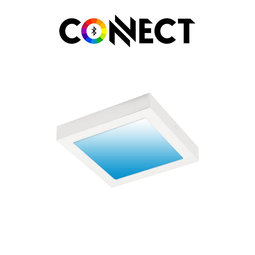 Connect LED Deckenlampe 22,5x22,5cm 2000lm RGB+CCT 1