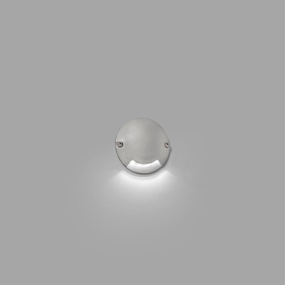 LED Aufbauleuchte Down KEENAN-2 6500K IP67 Nickel-Matt