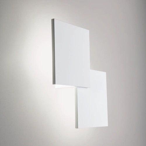 Lodes Puzzle Double eckig 30cm LED Wand- & Deckenleuchte