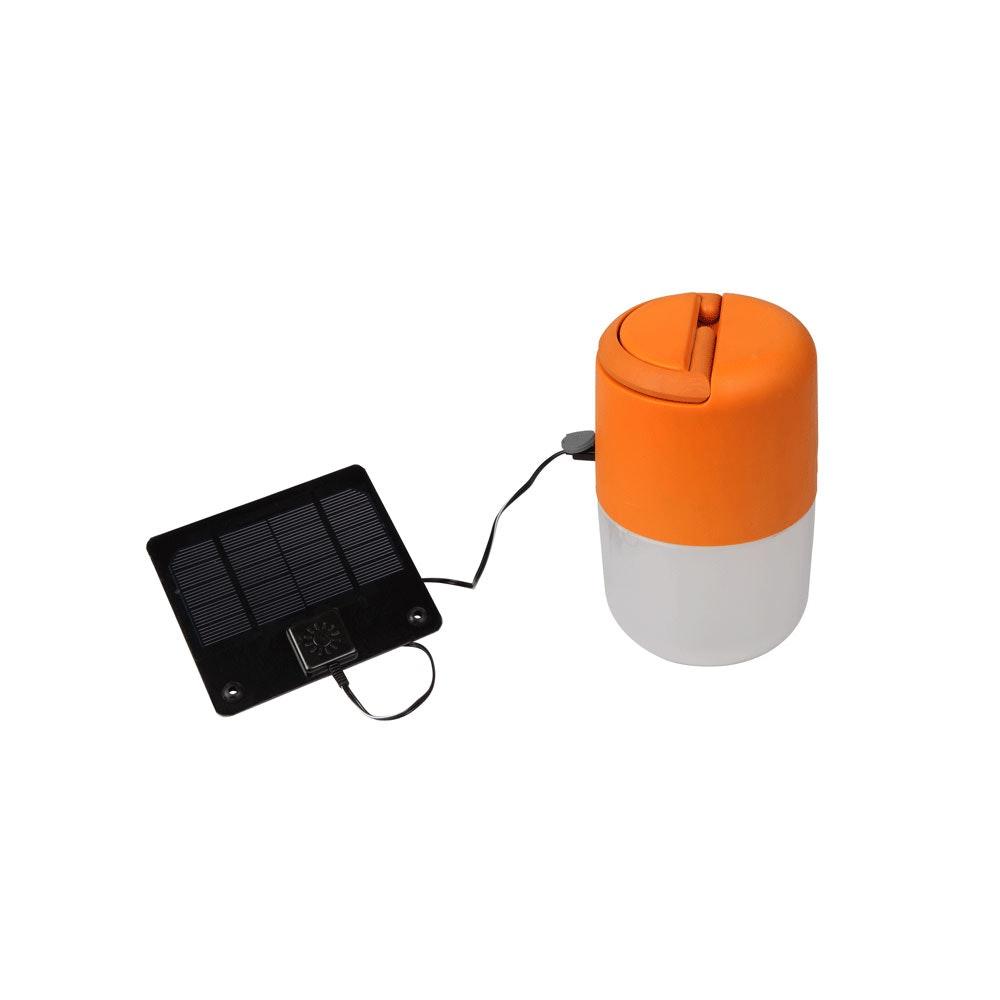 Mobile LED Solarleuchte Bump IP44 Grün 4
