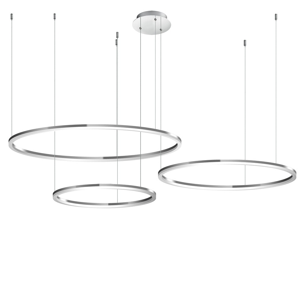 s.LUCE Ring 120 LED Pendelleuchte 5m Abhängung 18