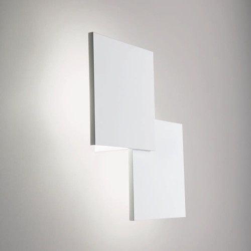 Studio Italia Design Puzzle Double eckig 30cm LED Wand- & Deckenleuchte