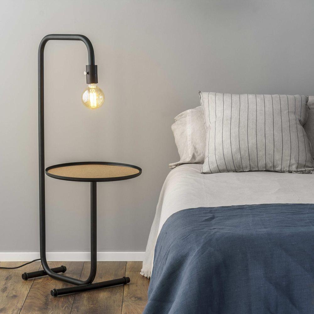 Guest Tisch- & Stehlampe mit Ablage Schwarz 2