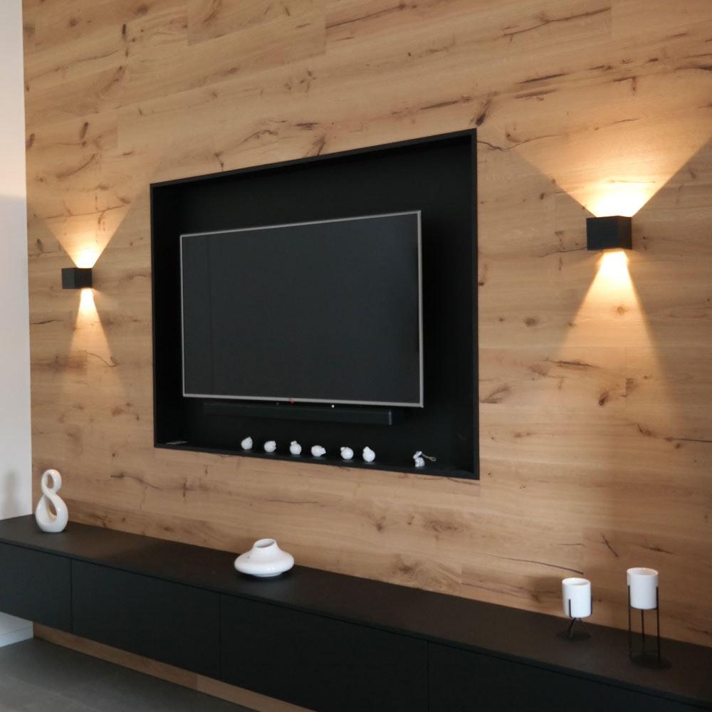 s.LUCE pro Ixa LED Innen- & Außen-Wandleuchte IP44 19