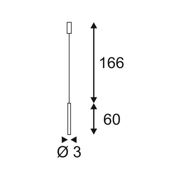 SLV Milan Pendant LED Pendelleuchte rund Kupfer-Gebürstet 7,5W 3000K 2