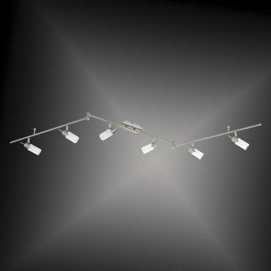 Max LED Deckenleuchte Stahl GU10 8