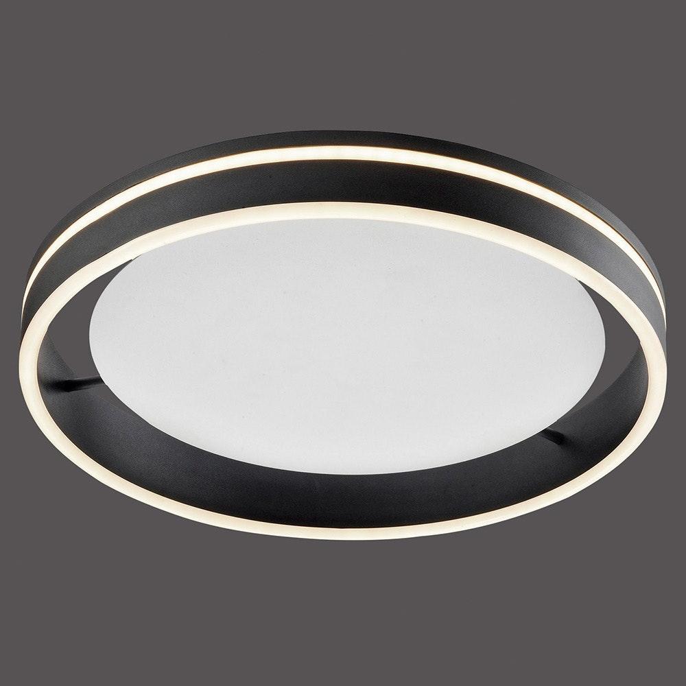 LED Deckenleuchte Q-Vito Ø 40cm CCT Anthrazit 2