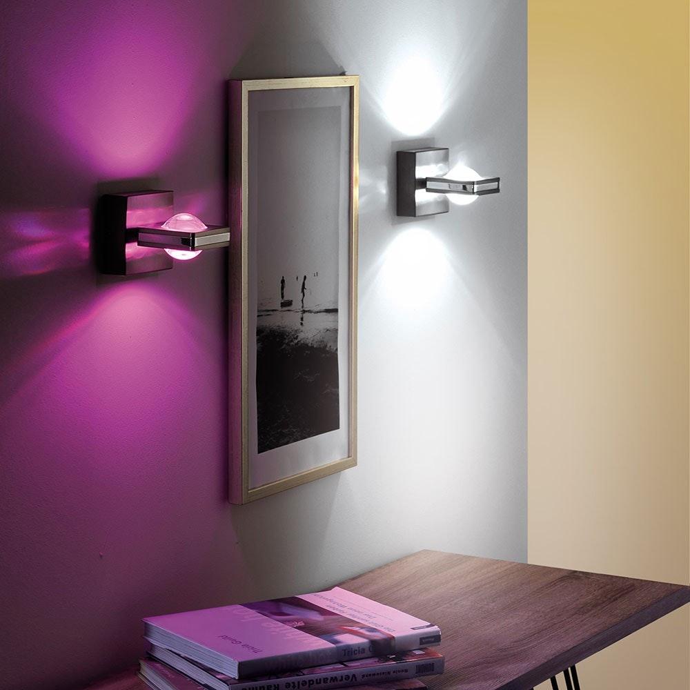 LED Wandlampe Q-Fisheye RGBW mit Smart-Steuerung thumbnail 4