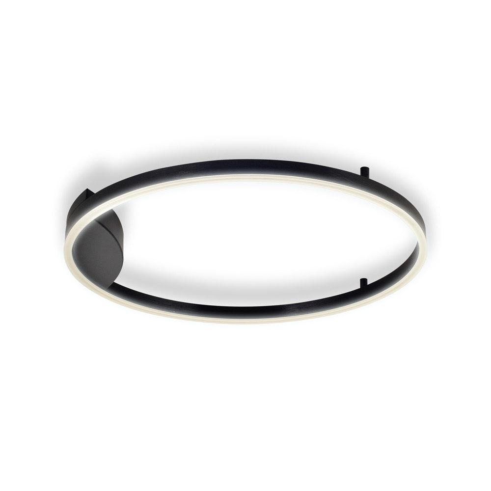 s.LUCE Ring 60 LED Wand & Deckenleuchte Dimmbar 18
