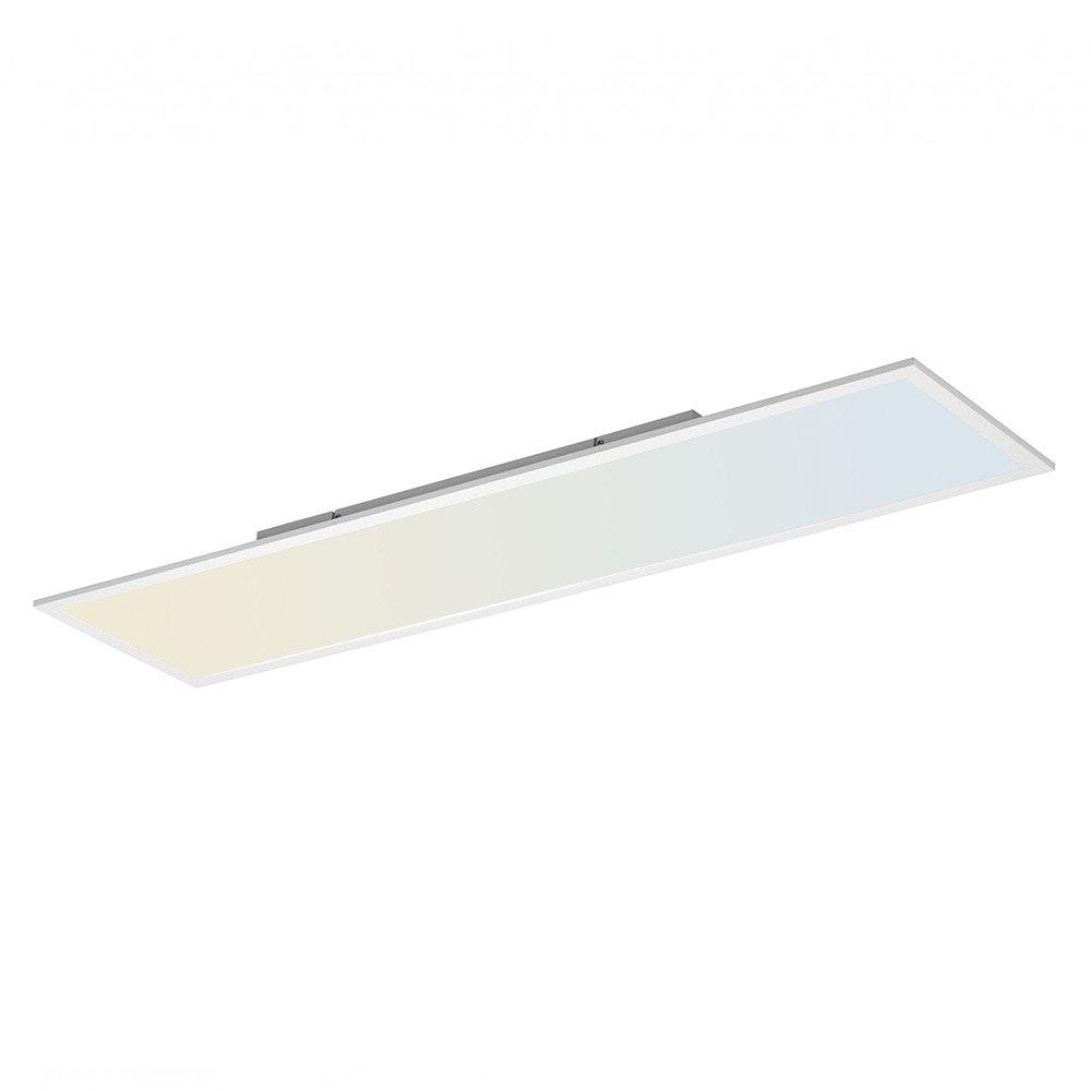 Q-Flat 120 x 30cm LED Deckenleuchte 2700 - 5000K Weiß 2