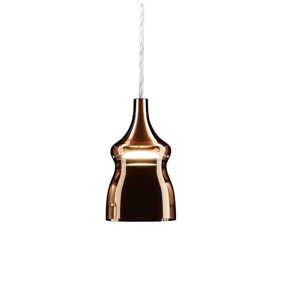 Studio Italia Design Nostalgia Glass Small 12cm LED Hängelampe thumbnail 3