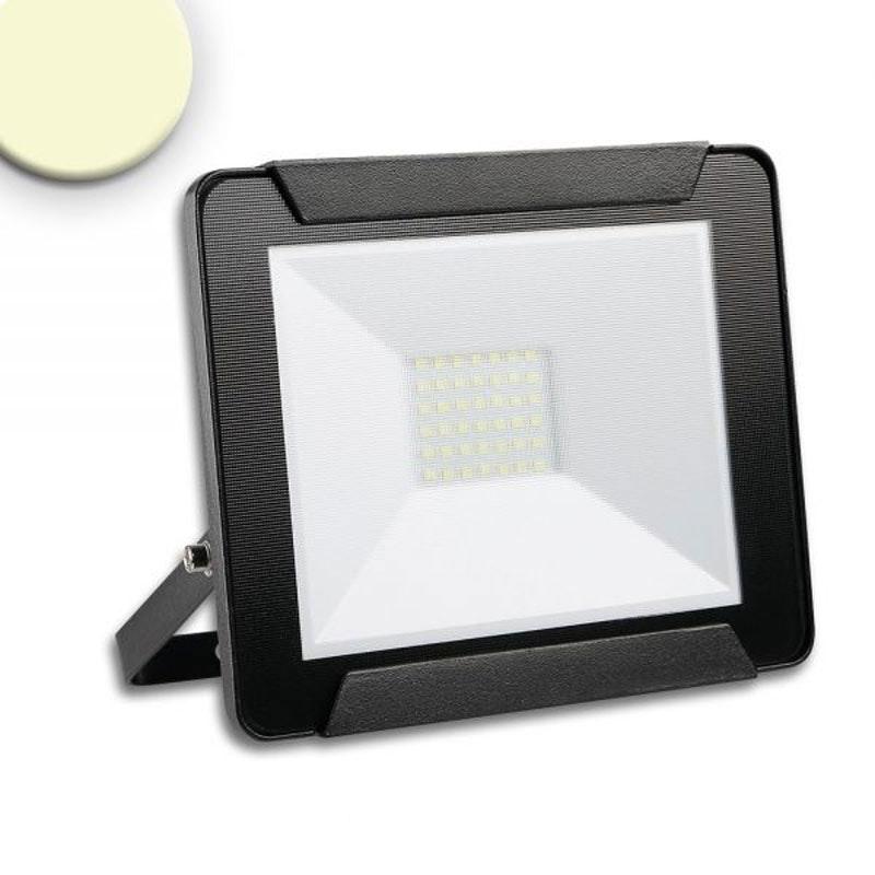LED Fluter Warmweiß 30W 2400lm , IP65 Schwarz 1