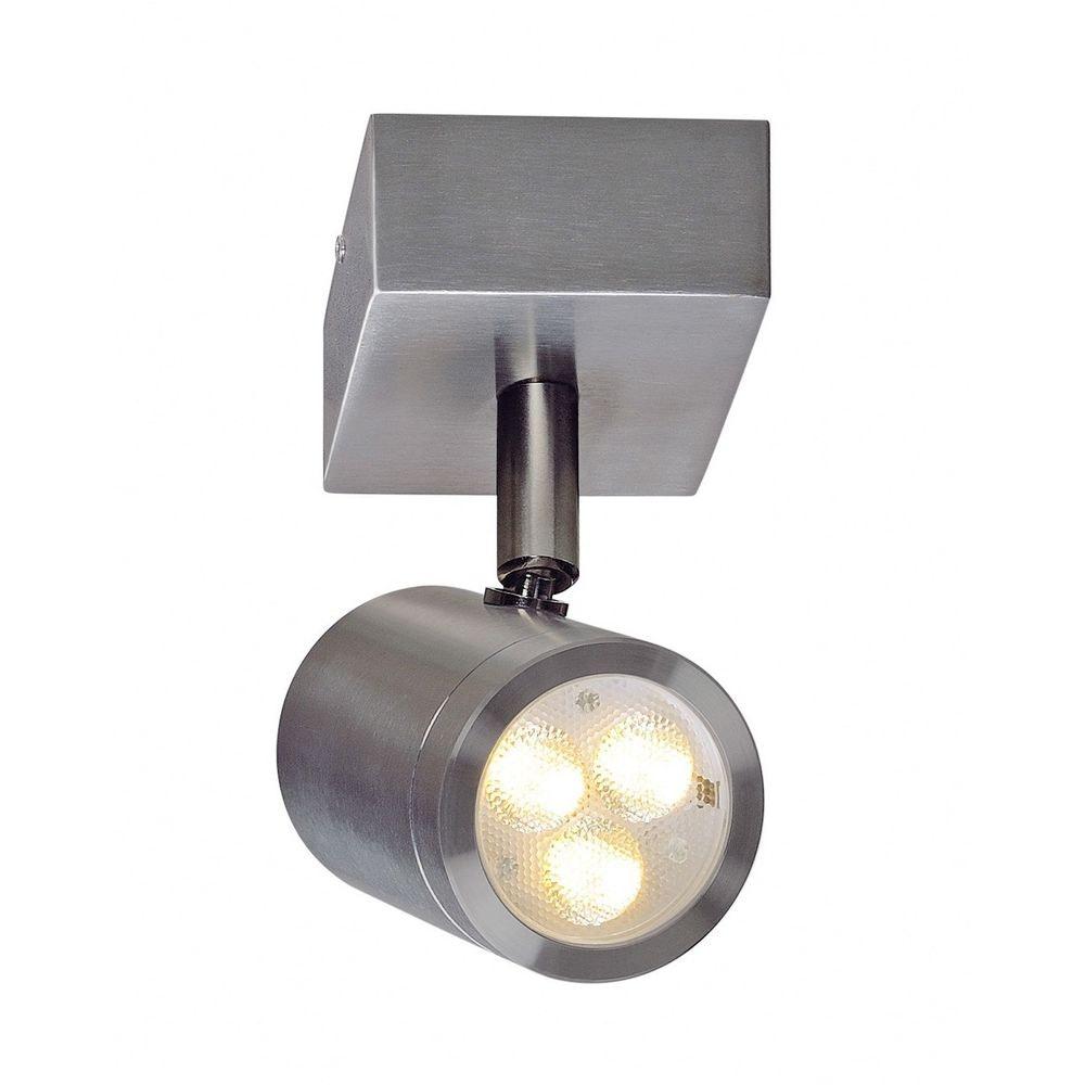 SLV Sst 316 LED Single Spot Wandleuchte Edelstahl 3W 3000K IP44 2