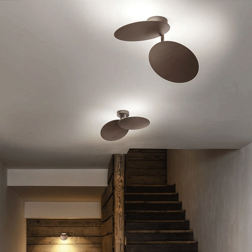 Studio Italia Design Puzzle Round Double LED Wand- & Deckenlampe 2