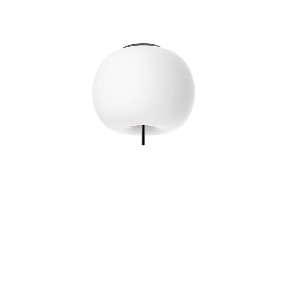 Kundalini Opalglas LED Deckenlampe Kushi Ø 16cm thumbnail 4