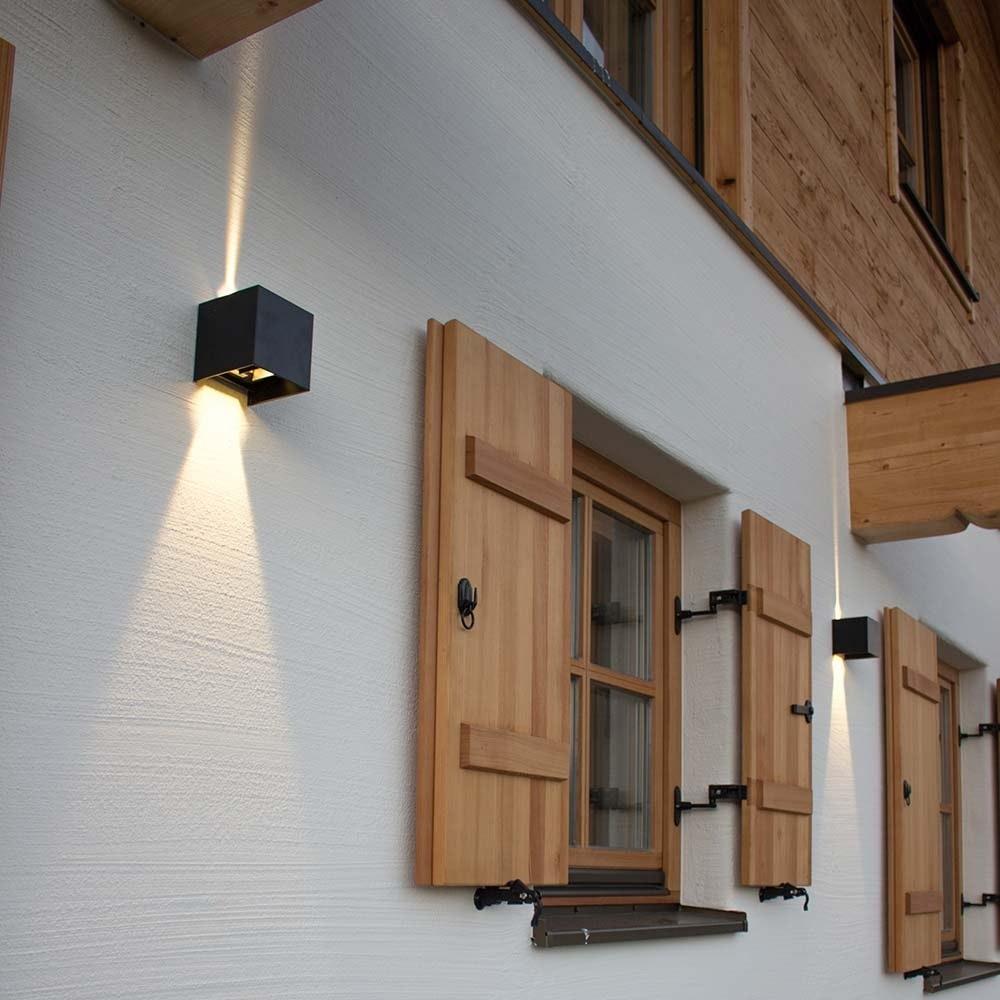 s.LUCE pro Ixa LED Innen- & Außen-Wandleuchte IP44 28