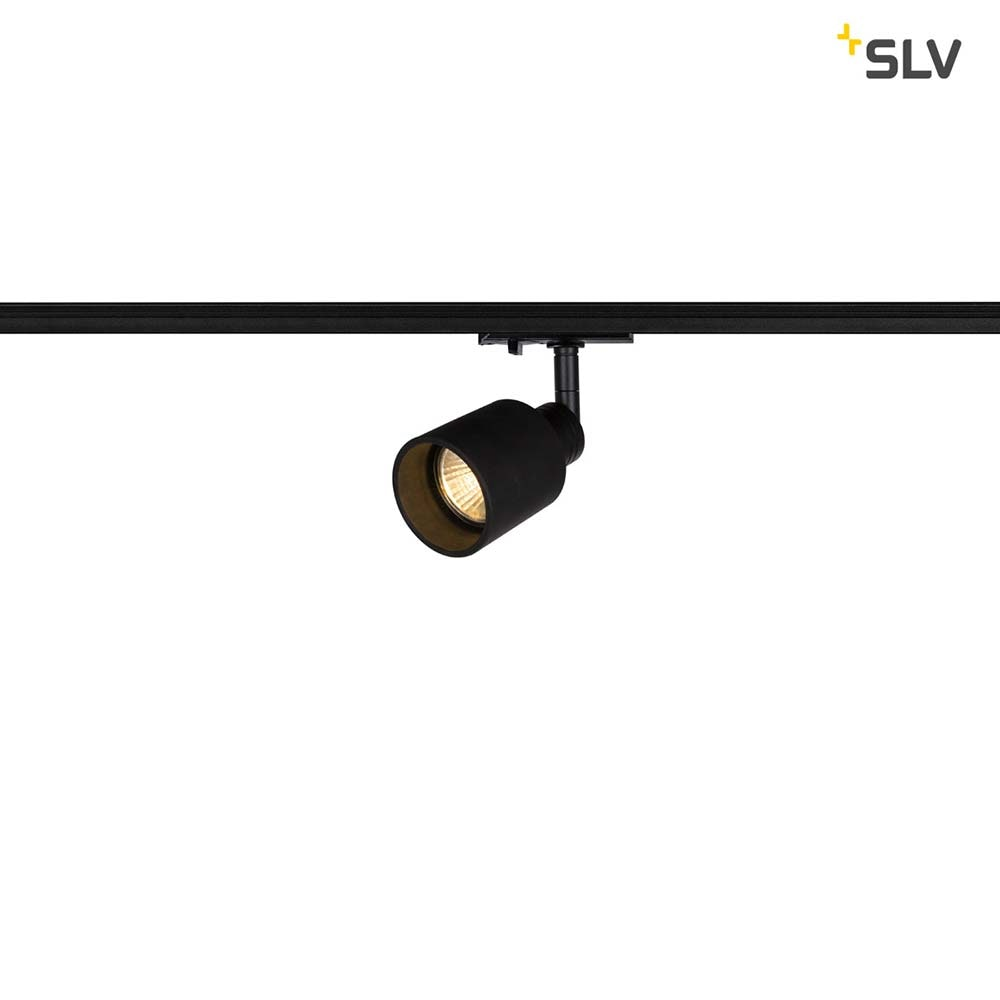 SLV Puri Track Spot QPAR51 Schwarz inkl. 1P.-Adapter 1