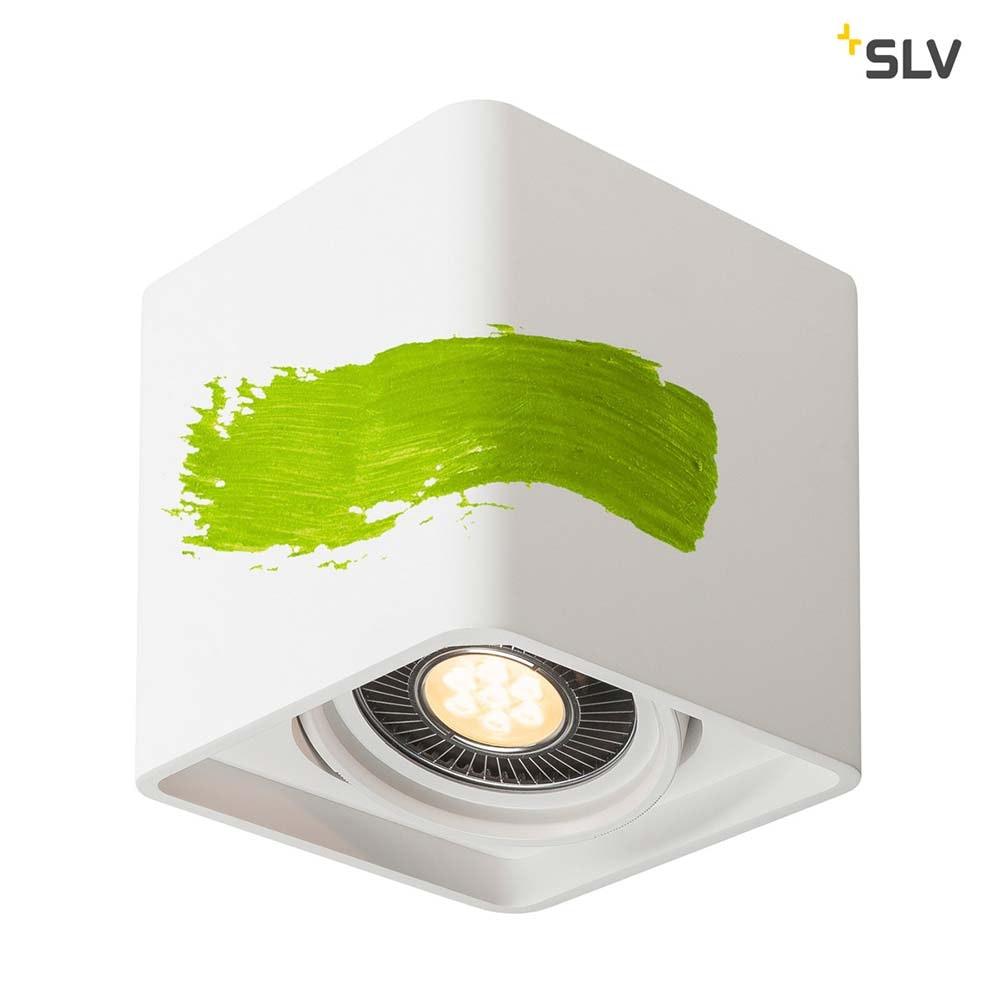 SLV Plastra Gips Deckenleuchte LED Eckig 4