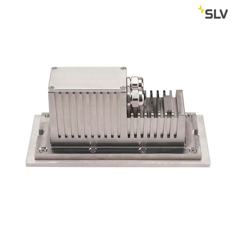 SLV Brick Outdoor Wandeinbauleuchte Pro LED 3000K Edelstahl IP67 850lm 3