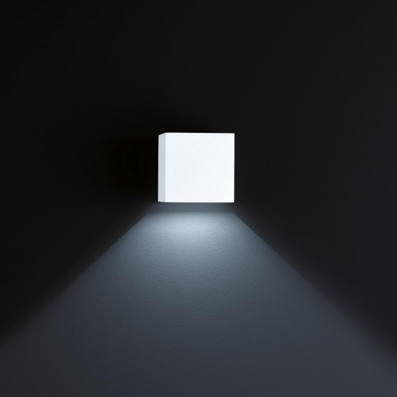 Helestra LED Außen-Wandleuchte Siri 44 - L IP54 Weiß 2