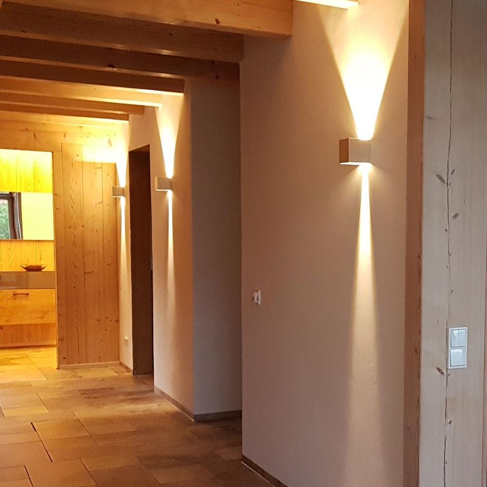 s.LUCE pro Ixa LED Innen- & Außen-Wandleuchte IP44 32