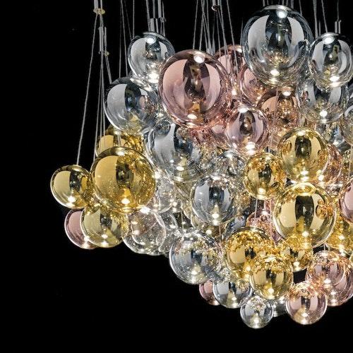 Studio Italia Design Random LED 3er Hängeleuchte