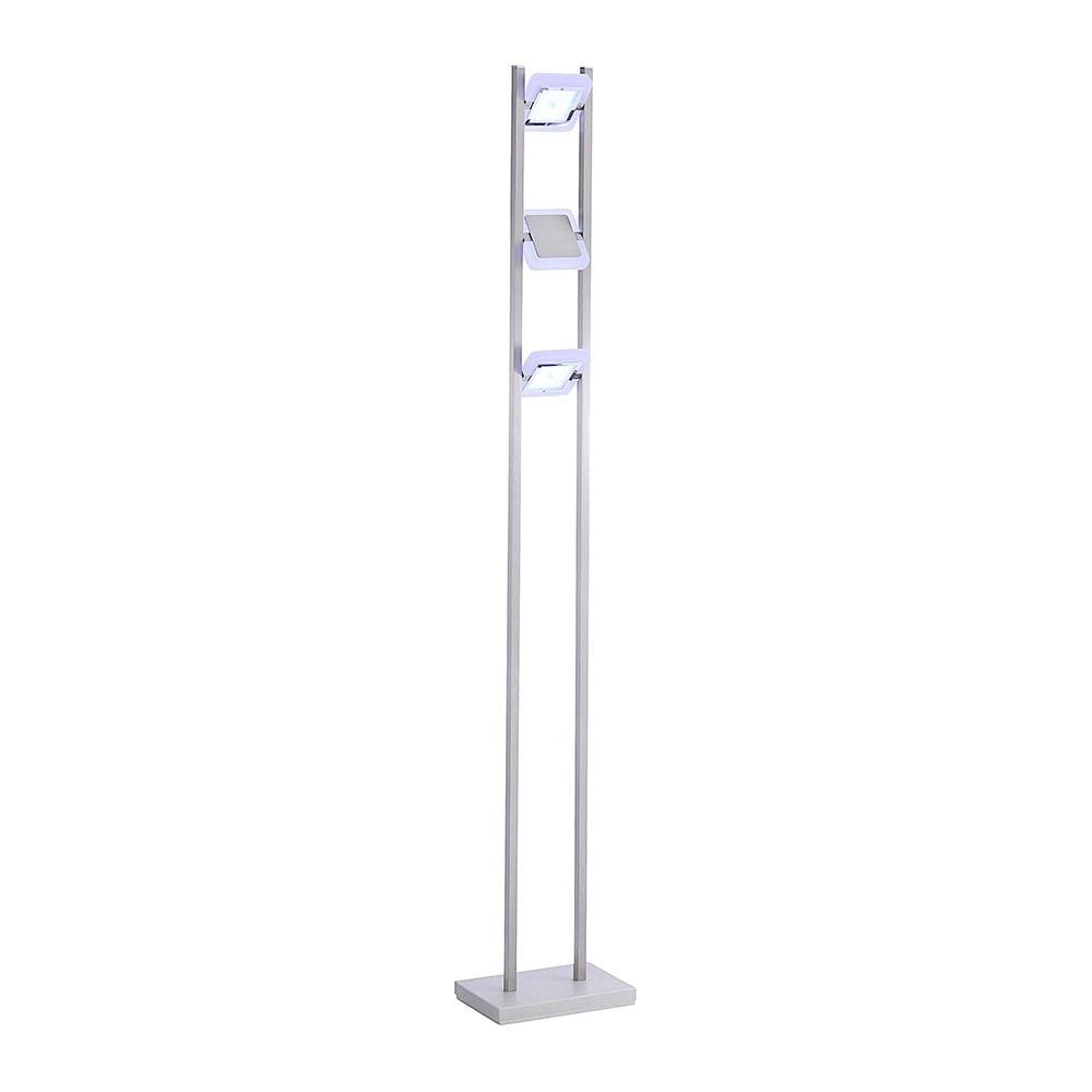 LED Spot Stehleuchte Q-Vidal 3x 4, 80W RGBW 2
