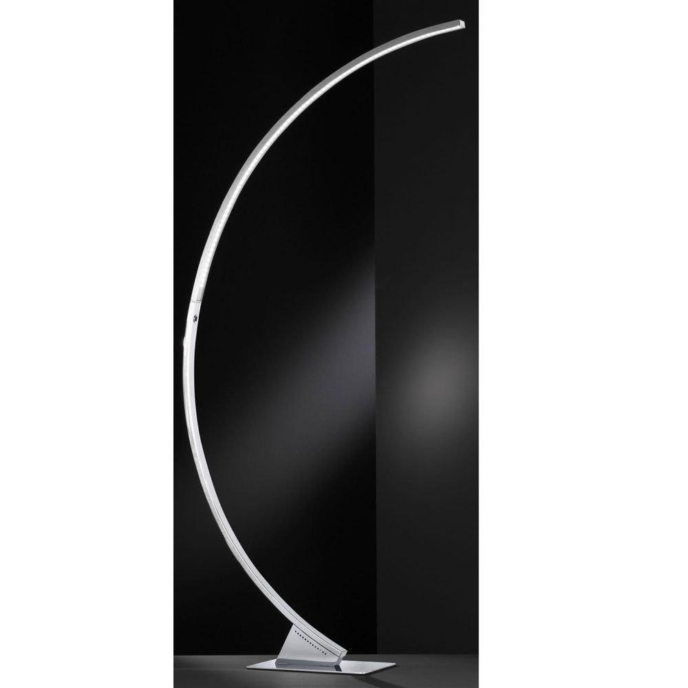 Luz LED Stehleuchte Chrom