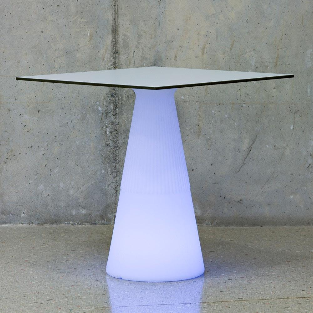 Licht-Trend LED beleuchteter Solar-Tisch Itaca mit Akku und Fernbedienung 5