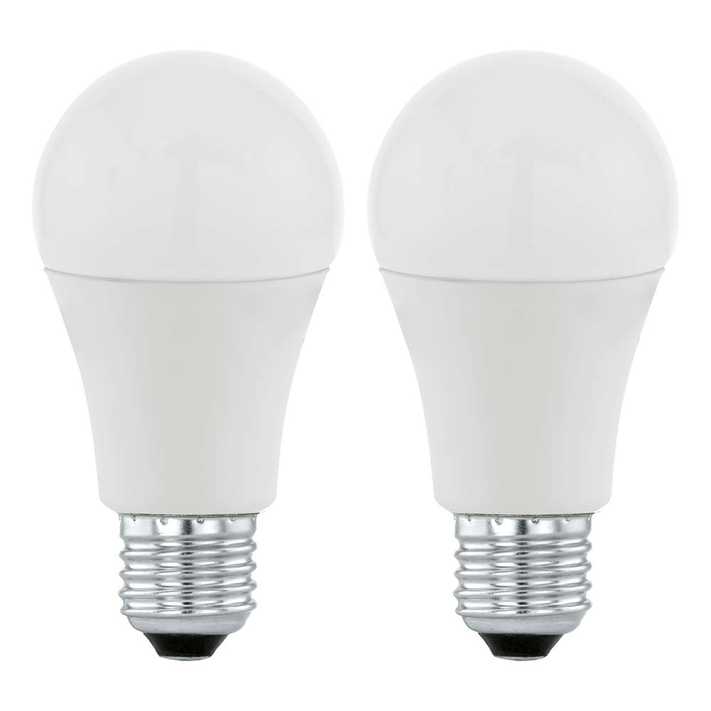 E27 LED A60 11W 3000K 2er-Set