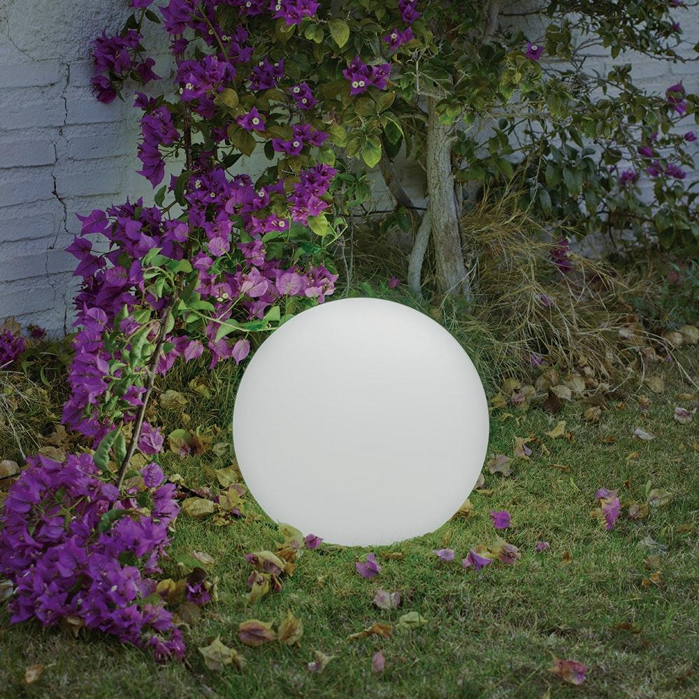 Licht-Trend LED-Solar-Kugelleuchte Buly Ø40cm IP65 mit Akku & Fernbedienung 1