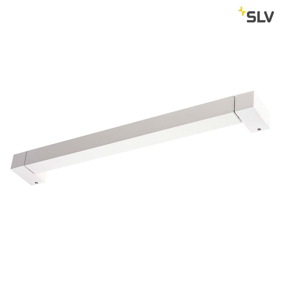 SLV Long Grill LED Wand- und Deckenleuchte Weiß 3000K 4