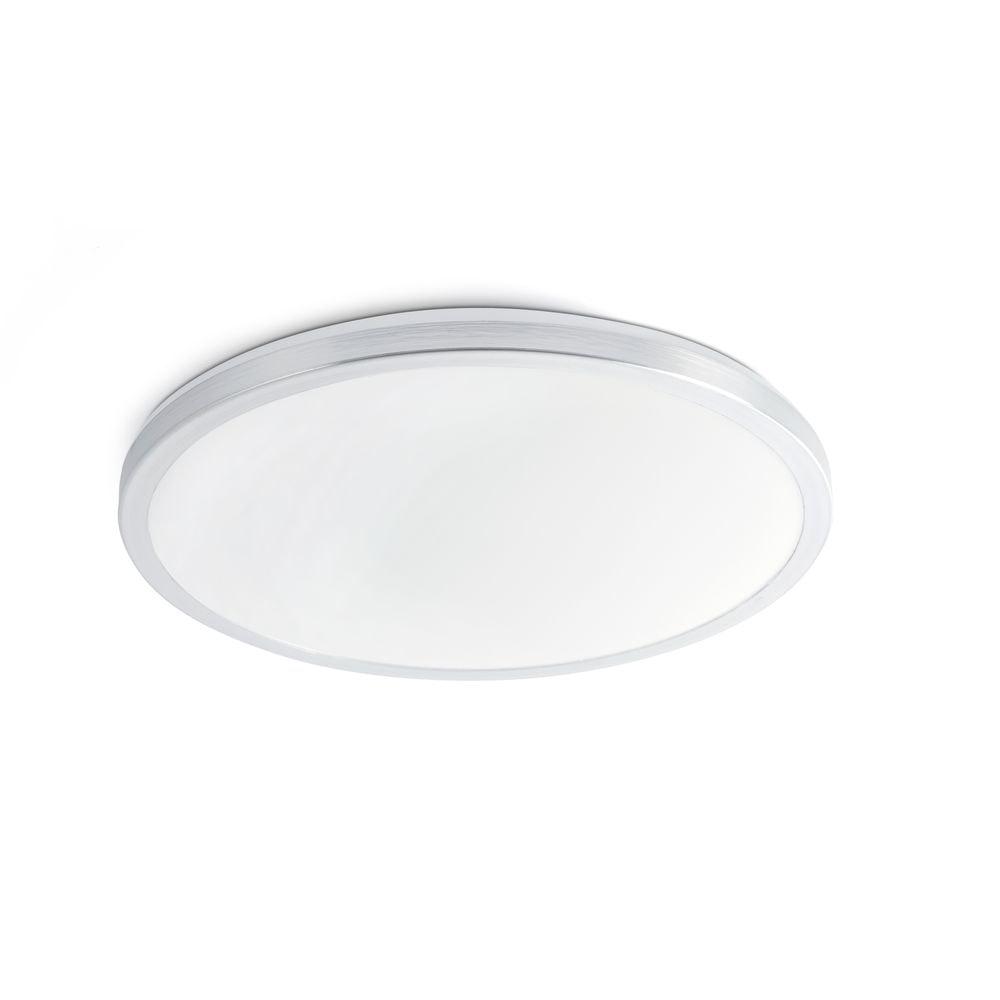 LED Deckenleuchte Foro IP44 Aluminium