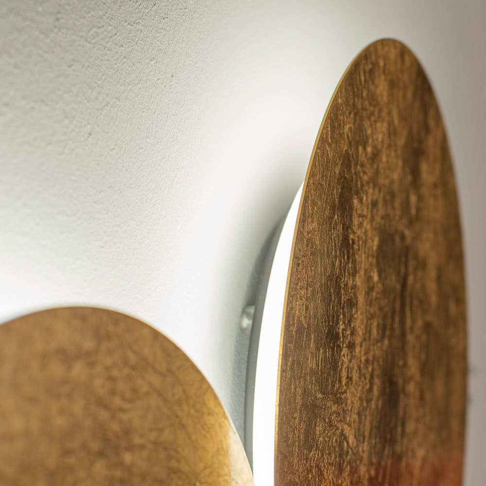 s.LUCE indirekte LED Wandleuchte Plate 11