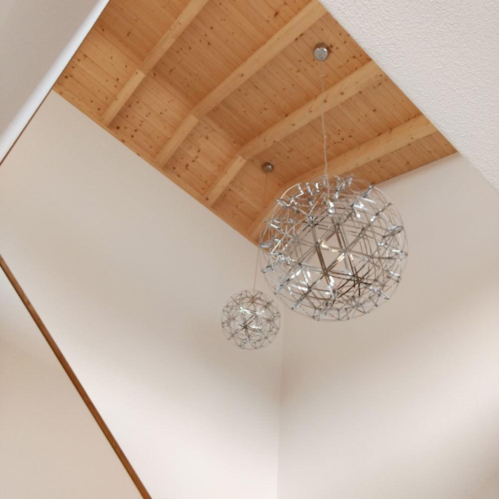 s.LUCE pro Atom 30 dimmbare LED-Hängeleuchte Metallkugel 8