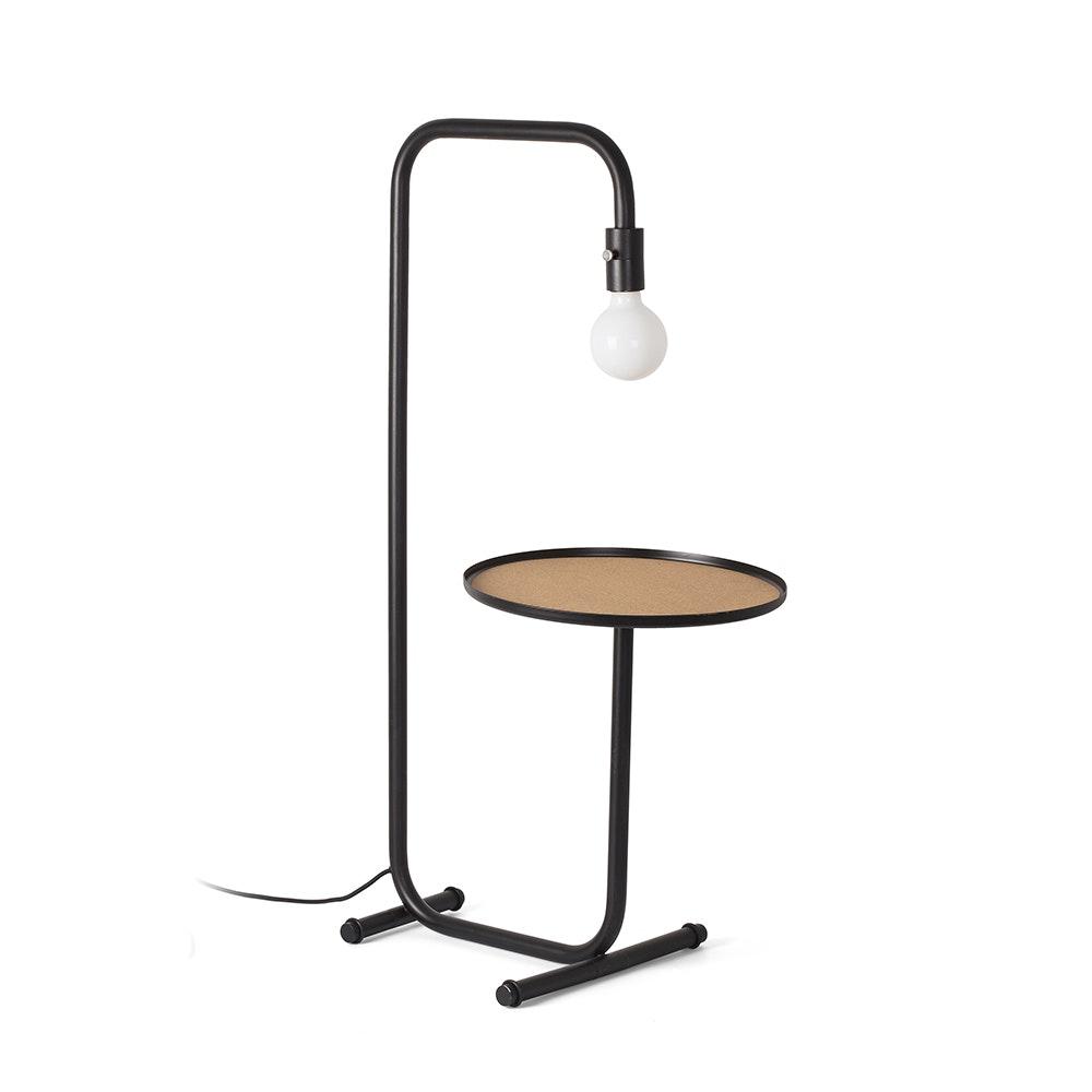 Guest Tisch- & Stehlampe mit Ablage Schwarz 1