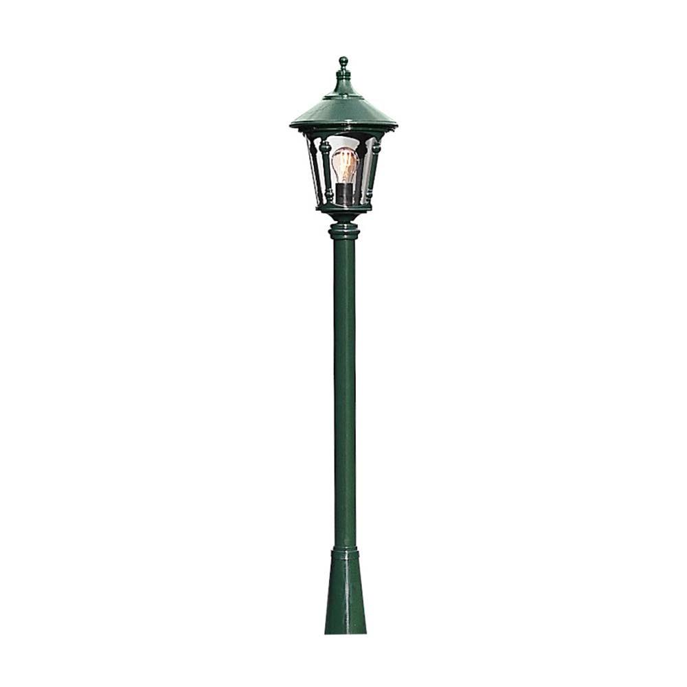Virgo Mastleuchte Leuchtenkopf Grün, rauchfarbenes Acrylglas