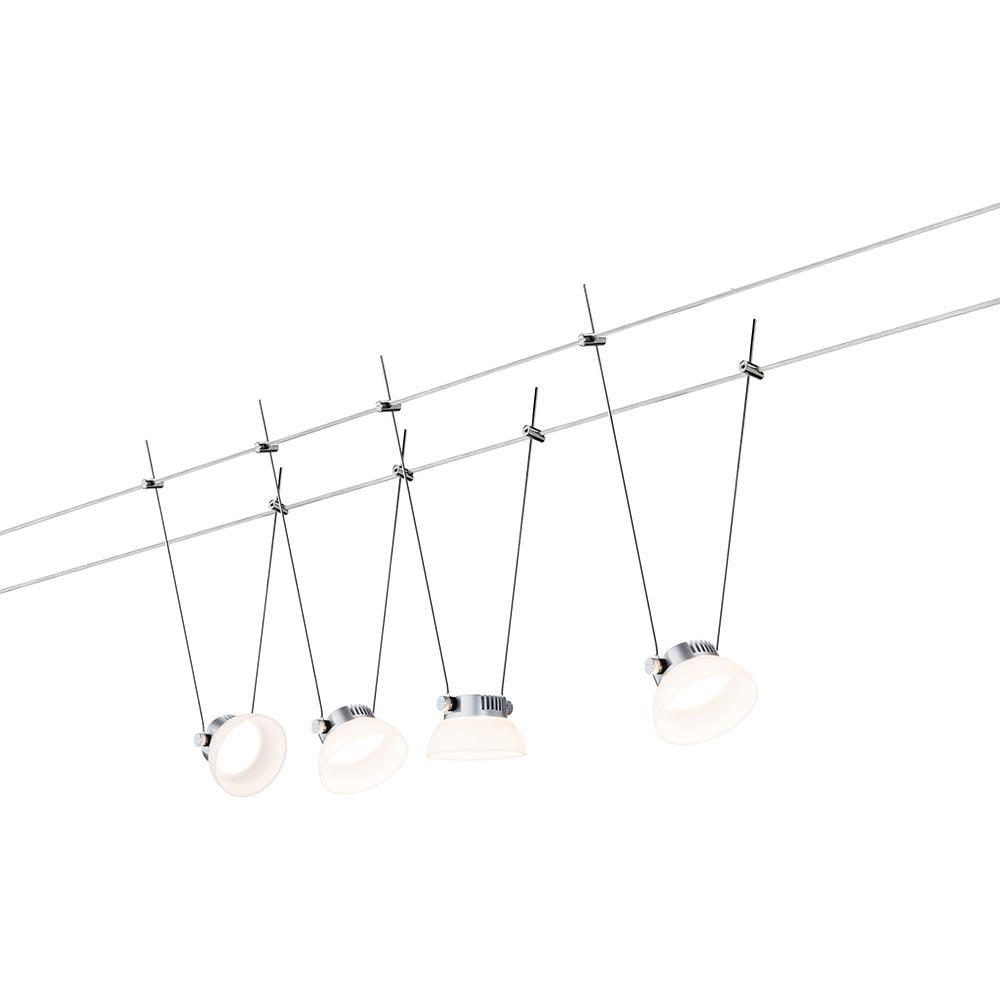 SmartHome Seilsystem IceLED 4x4W mit Weißlichtsteuerung
