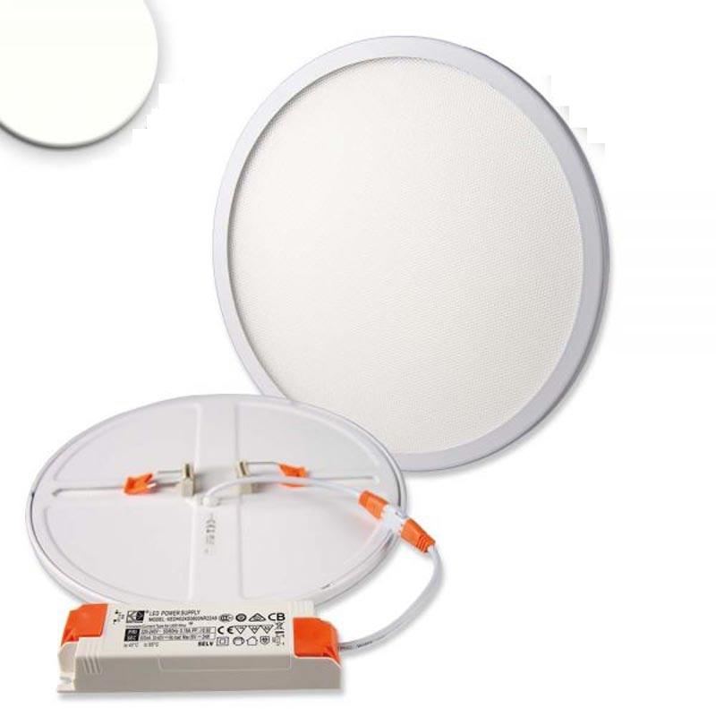 Einbau LED-Panel Ø 23cm Flex dimmbar 23W Ausschnitt 5-21cm neutralweiß 1