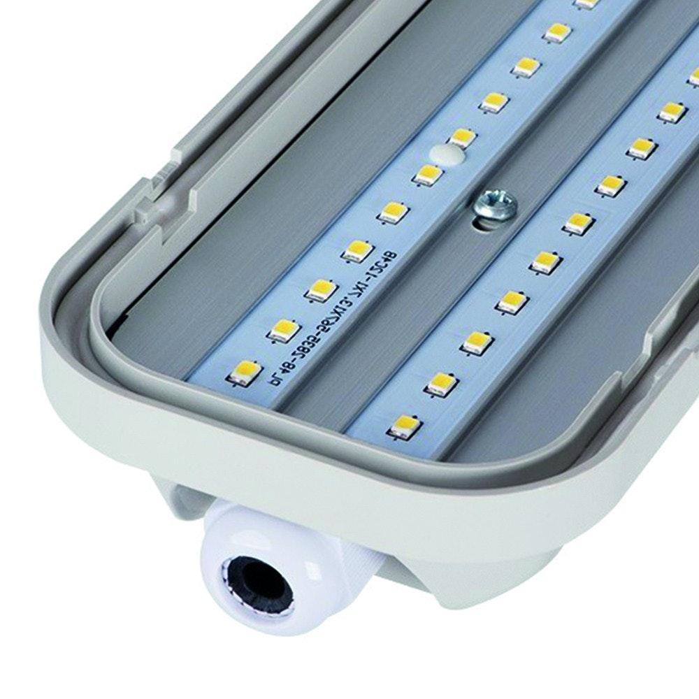 LED Wannenleuchte staubdicht 4200lm 120cm IP65 6