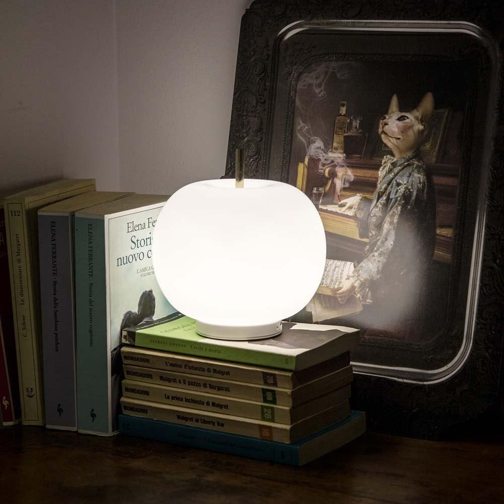 Kundalini LED Akku-Tischlampe Kushi Ø 16cm thumbnail 5